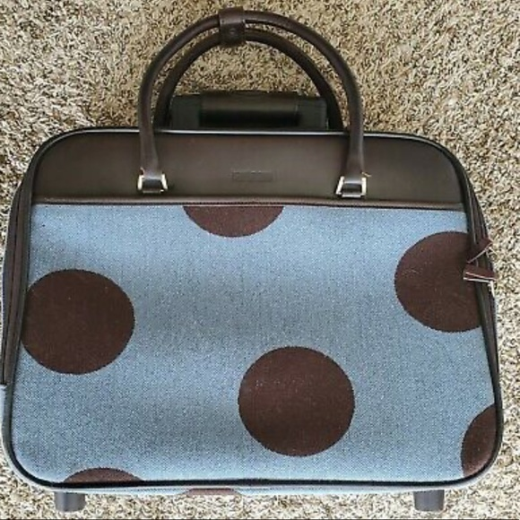 Hartmann Luxe Polka Dot Rolling Carry-On ✈️